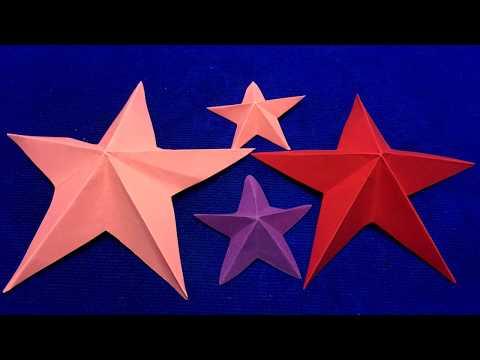 Paper Star Mixed color, DIY Idea Paper Star Mixed color, How to make paper star mixed color ?