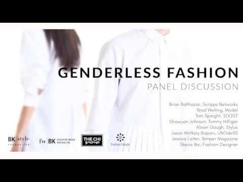 Livestream of Genderless Fashion Panel Discussion - Fashion Week Brooklyn