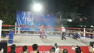 Hải Nhật - Kickboxing Hp - giáp đỏ .Vs. Huy Hùng - Đất Cảng Tiger - giáp xanh