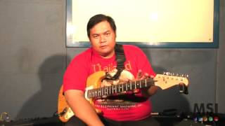 Video MSI Guitar Lesson with Abraham Edo - Episode 2 - Major Scale download MP3, 3GP, MP4, WEBM, AVI, FLV September 2018