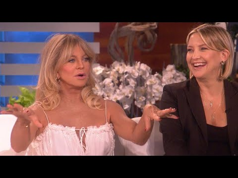 Kate Hudson and Goldie Hawn Joke Around About Kate's Third Pregnancy