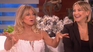 Kate Hudson and Goldie Hawn Joke Around About Kate's Third Pregnancy