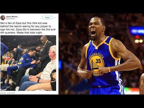 Kevin Durant DESTROYS ESPN In Defense Of Zaza Pachulia