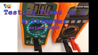 видео Цифровой мини-мультиметр Extech MN15A