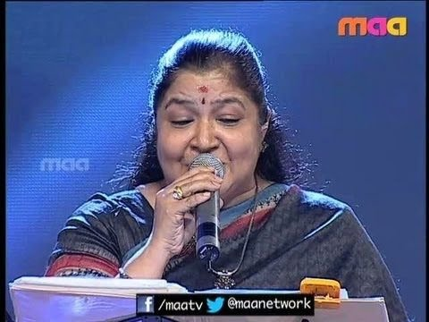 Nightingale Chithra Performance ( Telugu Hits)