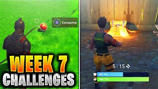 ALL WEEK 7 Challenges Guide Fortnite SEASON 5 (Fortnite Week 7 Challenges) Tutorial