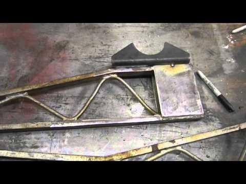 Old School Ladder Bar Install - YouTube