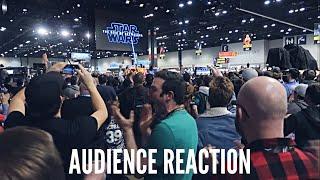 Star Wars: The Rise Of Skywalker Trailer Reaction At Star Wars Celebration 2019