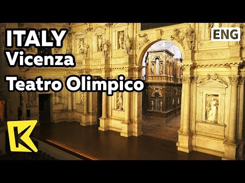 【K】Italy Travel-Vicenza[이탈리아 여행-비첸차]올림피코 극장/Teatro Olimpico/Andrea Palladio/World Heritage