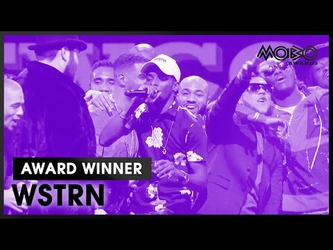 WSTRN | BEST NEWCOMER acceptance speech at MOBO Awards | 2016 | MOBO