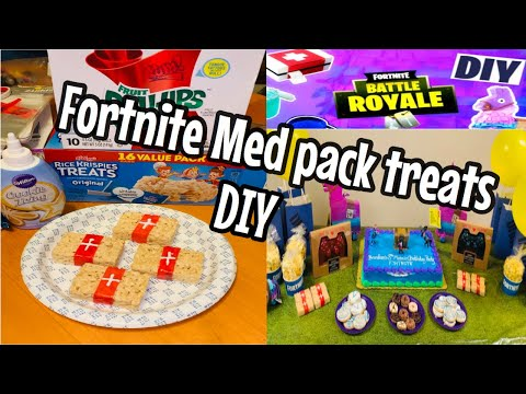 Fortnite DIY Med Pack Treats