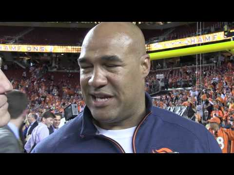 Eric Studesville Emotional After Super Bowl 50 Win
