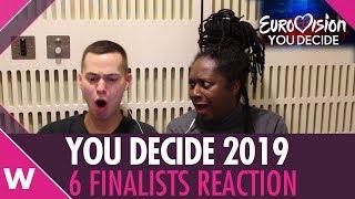 Eurovision You Decide 2019 | UK REACTION