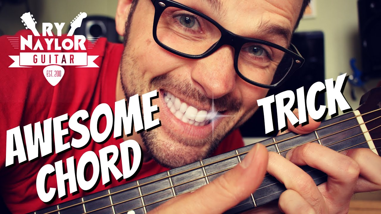 Guitar Fretboard Tricks How To Move Chord Shapes Up And Down The