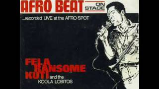 fela ransome kuti and his koola lobitos lai se 1965wmv