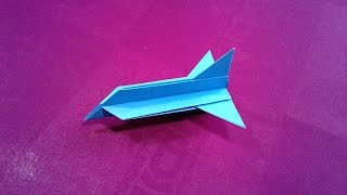 How to make a simple paper plane for kids | Cool paper airplane | Real paper airplanes | Paper Craft
