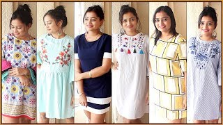 Kurti Bolke Peheno ya Dress Bolke Peheno - 2 in 1 - 7 dresses | Haul | Indian Mom On Duty