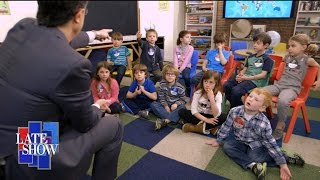 Stephen Talks To Kids About The Election