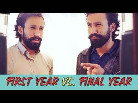 College First Year vs. Final Year | MangoBaaz