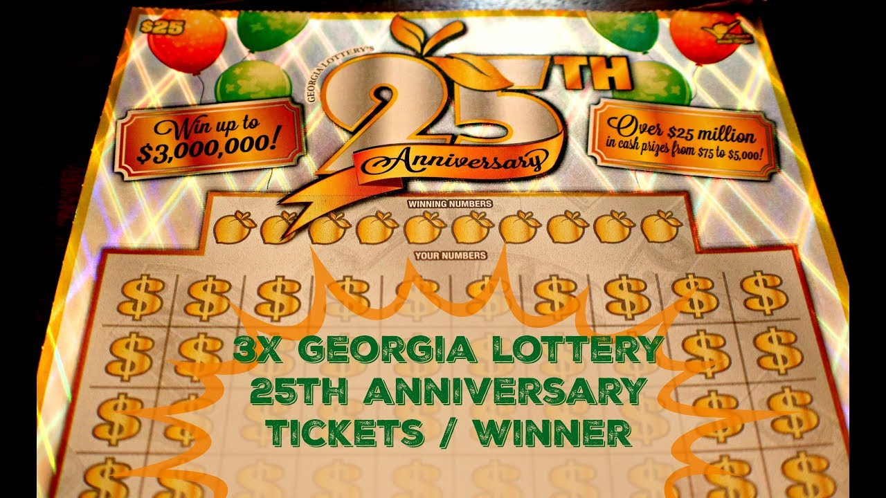lottery 25th anniversary