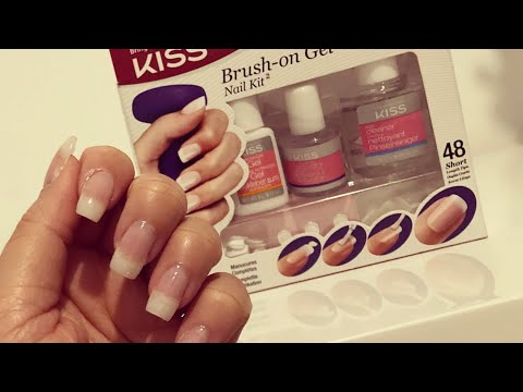 Diy Gel Nägel Mit Dem Kiss Brush On Gel Kit I Marina Si