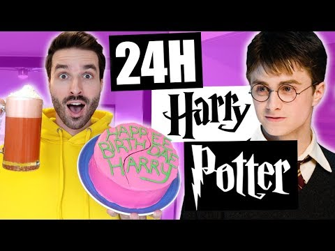 JE MANGE QUE LA NOURRITURE DE HARRY POTTER PENDANT 24H