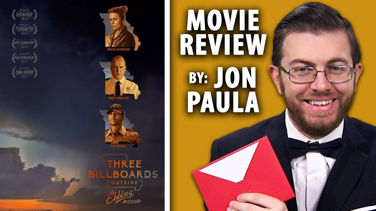 Three Billboards Outside Ebbing, Missouri • Movie Review #JPMN