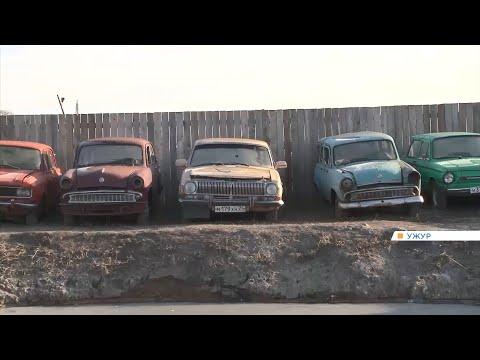 Житель Ужура потратил больше миллиона на коллекцию раритетных автомобилей