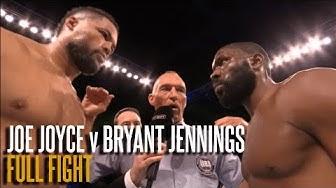 JOE JOYCE V BRYANT JENNINGS | JULY 2019 | 'The Juggernaut' steps up (Full Fight)