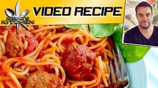 Spaghetti & Meatballs - Video Recipe