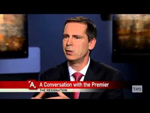 Dalton McGuinty: A Conversation with the Premier