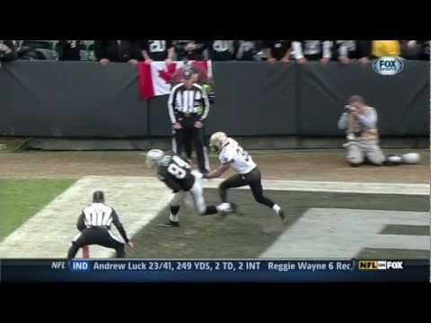 2012 Carson Palmer - Touchdown Highlights (Raiders)