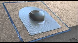 Установка стандартной трубы VILPE до укладки черепицы(, 2015-04-25T10:32:09.000Z)