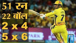 IPL 2018 | Match 30 | CSK vs DD | MS Dhoni का बल्ला एक बार फिर चला, इस बार निशाने पर Delhi की टीम