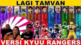 Download Mp3 Lagi Tamvan || Versi Nama Kyuu Rangers & Nama Aktornya, Wow Banget 😎