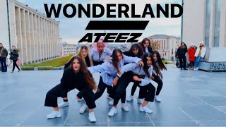 [KPOP IN PUBLIC] ATEEZ (에이티즈) - WONDERLAND Dance Cover   WAVE CREW BELGIUM