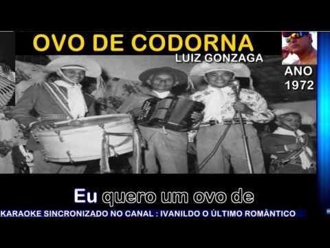 Ovo de Codorna - Luiz Gonzaga - karaoke