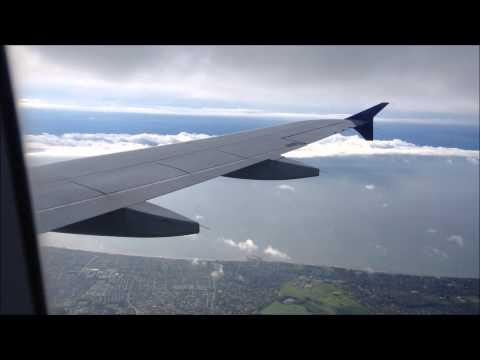 Scandinavian Airlines, Airbus A320, Amsterdam to Copenhagen.