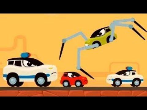 Мультики про машинки - Машинка Редди бежит от полиции Погоня. Мультфильмы 2021 новые серии.
