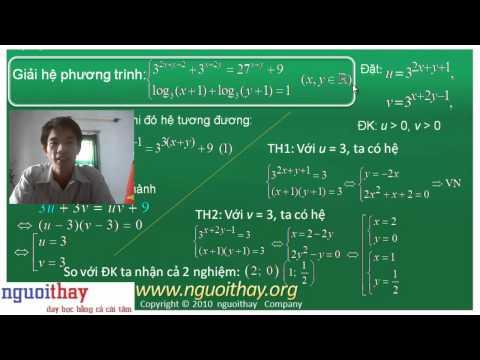 Hệ phương trình [ 4 ]