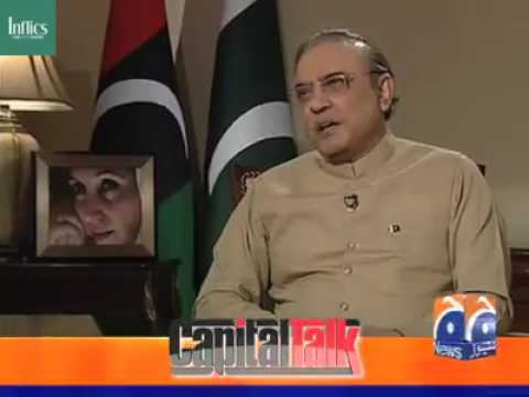 Inflics - Asif Zardari's 22nd March Interview with Capital Talk