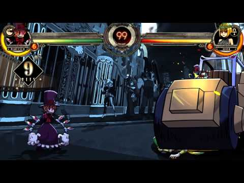 Skullgirls 2nd Encore - DIO's THE WORLD/ROAD ROLLER (Jojo Reference)