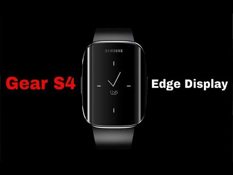 Gear S4 With Edge Screen Display New Leaked Photos Youtube