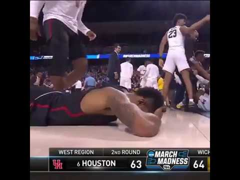 University of Michigan Buzzer Beater against the University of Houston to win the game