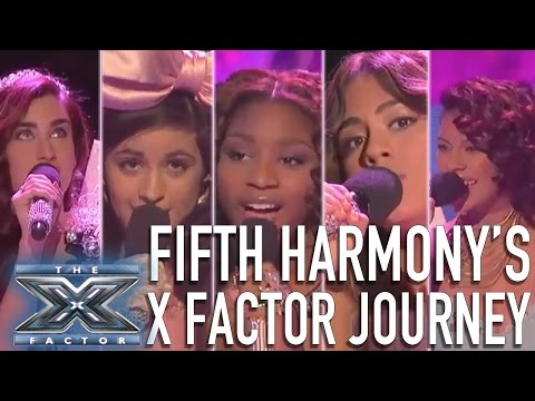 Fifth Harmony's X Factor Journey | THE X FACTOR USA