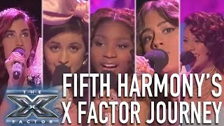 Video Fifth Harmony's X Factor Journey | THE X FACTOR USA download MP3, 3GP, MP4, WEBM, AVI, FLV Agustus 2017