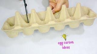 3 EGG CARTONS IDEAS!