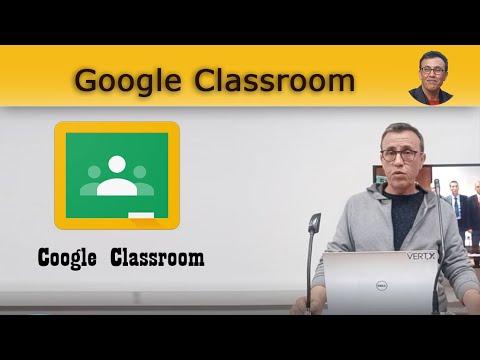 Google Classroom pour l'enseignement à distance - 2020