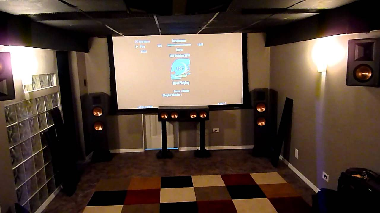 Klipsch home theater 2 youtube - Thx home cinema ...