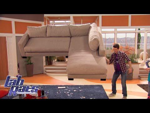 Bionic Chore Wars | Lab Rats | Disney XD